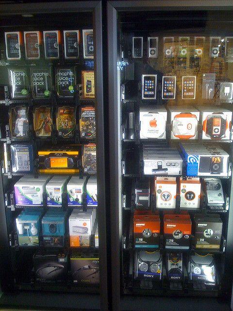 Apple Vending Machine   Gadgets   Vending machine, Kiosk, Phone