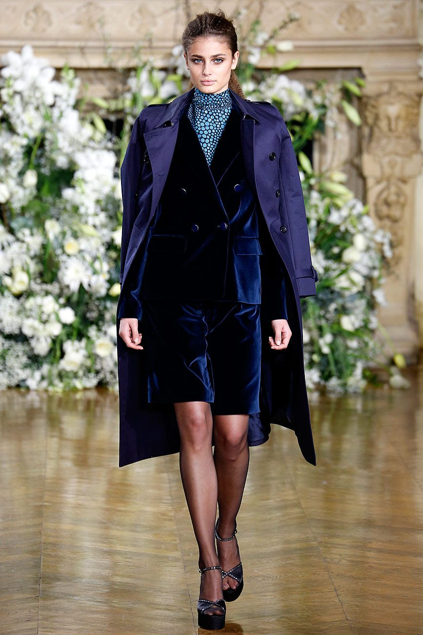 Report beauty blue velvet at kenzo fall advise to wear for autumn in 2019