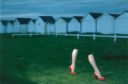 Charles Jourdan campaign photographed by Guy Bourdin, 1979