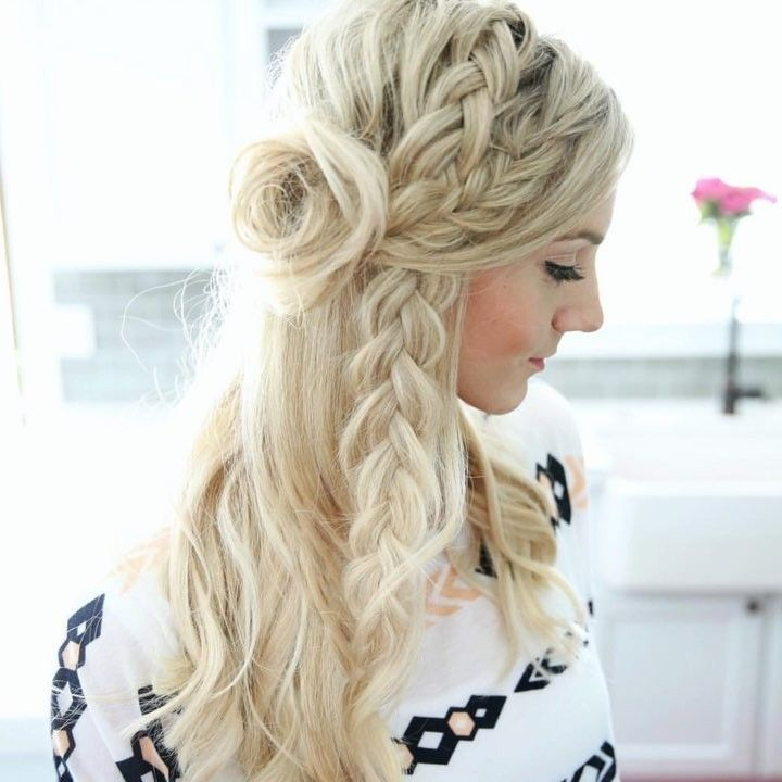 10 Easy Thanksgiving Hairstyles Graduation Hairstyles Hair Styles Medium Hair Styles