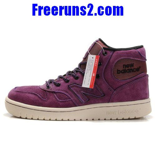 Wholesale Discount New Balance NB 680 Purple White Shoes Sports Shoes Store