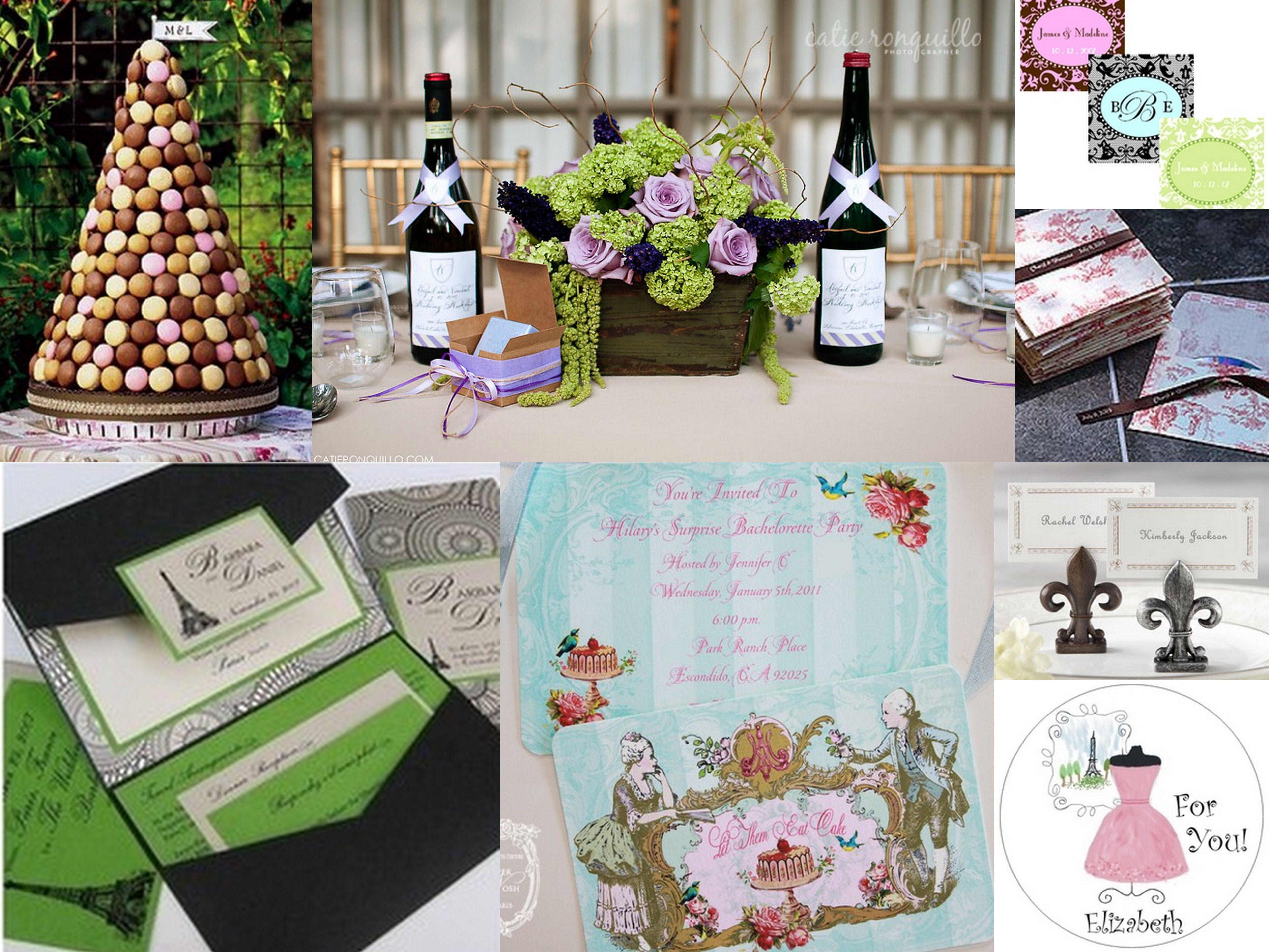 Bride Ideas Theme Wedding Ideas Just Weddings Org Blog Paris Theme