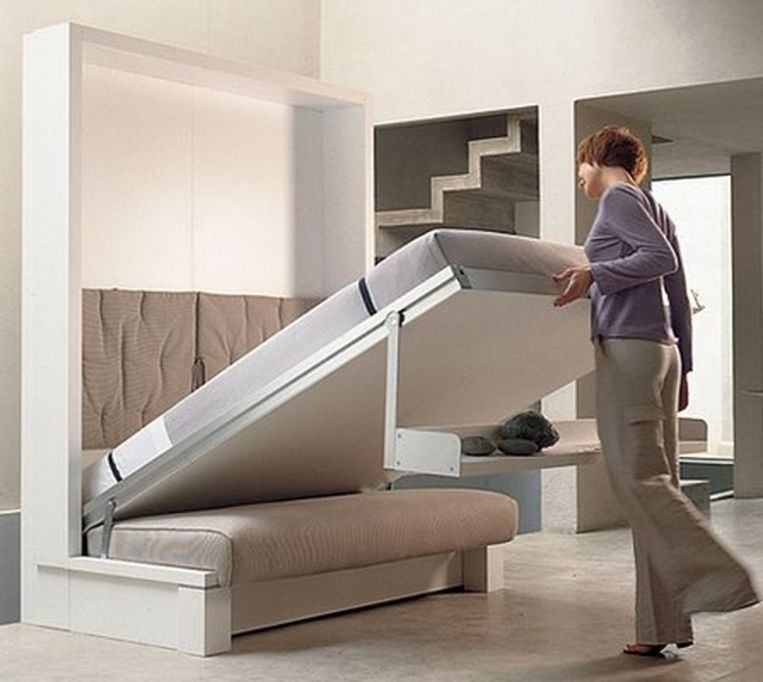 Saving Space With Creative Folding Bed Ideas 3 Space Saving