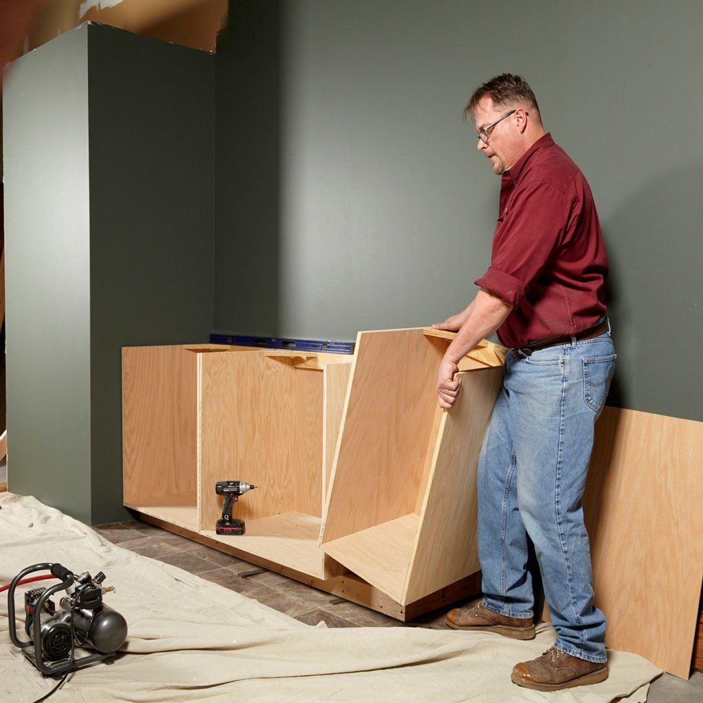 Plywood Garage Cabinet Plans: Tips For Creating Face Frame Cabinets