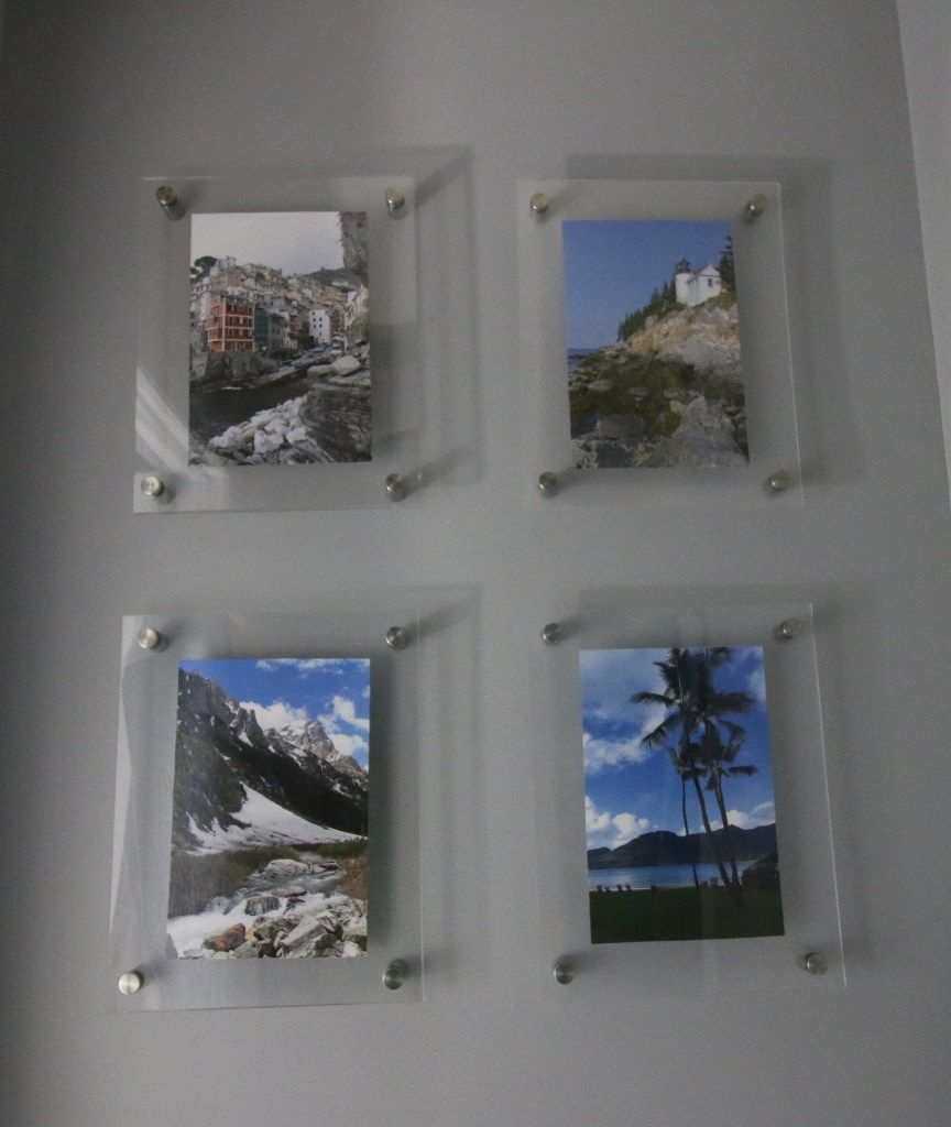 Diy Knock Off Wall Mounted Acrylic Frame Gallery Wall Gallery Wall Frames Gallery Frame Diy Photo Frames