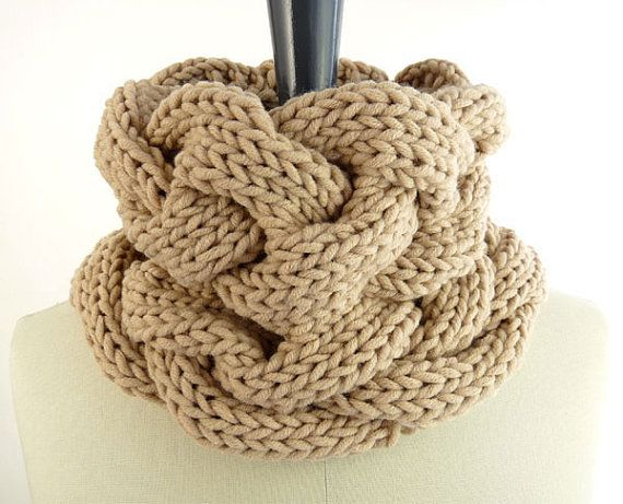 Knitting Pattern For Small Neck Scarf : PDF Knitting PATTERN / Printable Knitting INSTRUCTIONS to ...
