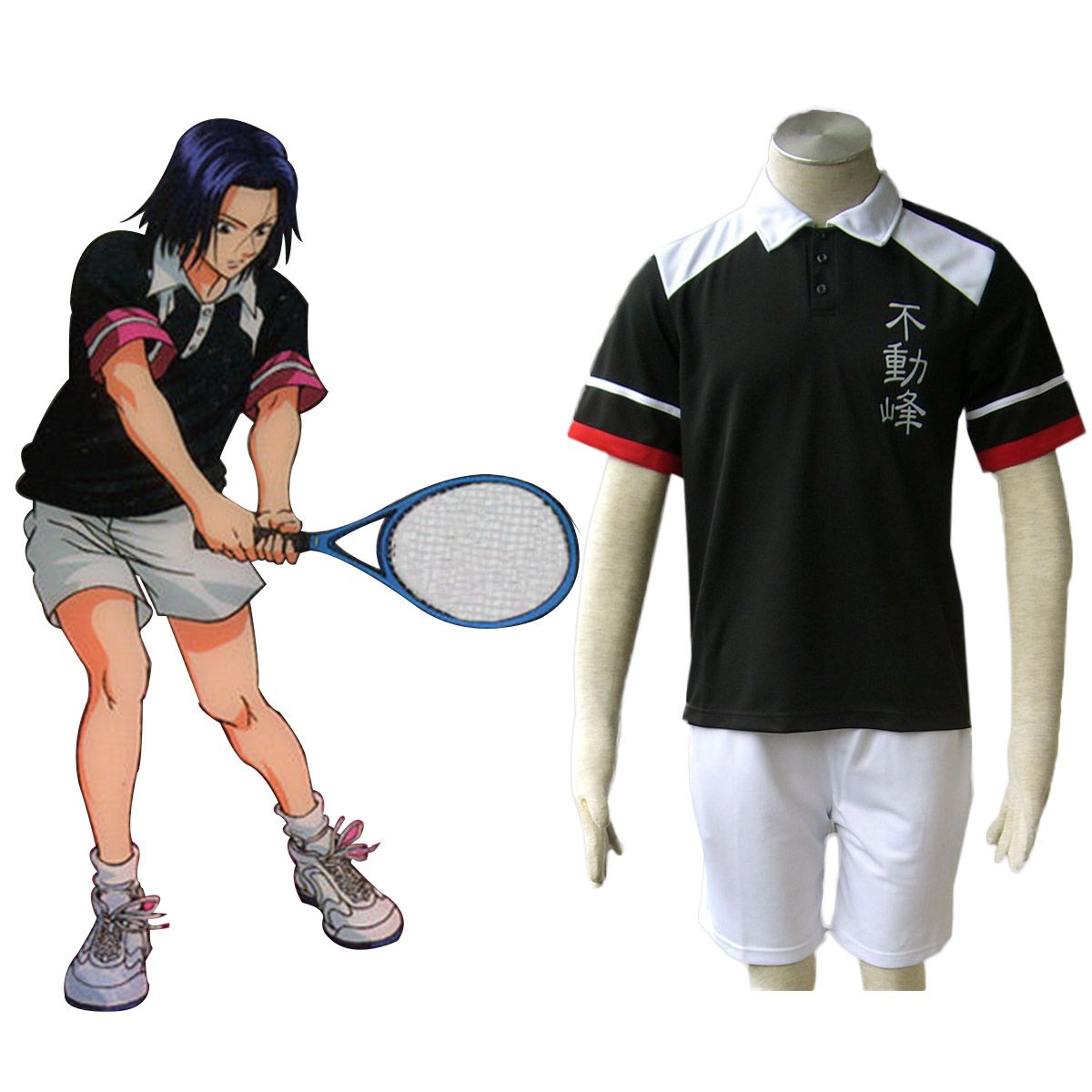 Deluxe The Prince of Tennis Fudomine Summer Uniforms Cosplay Costumes