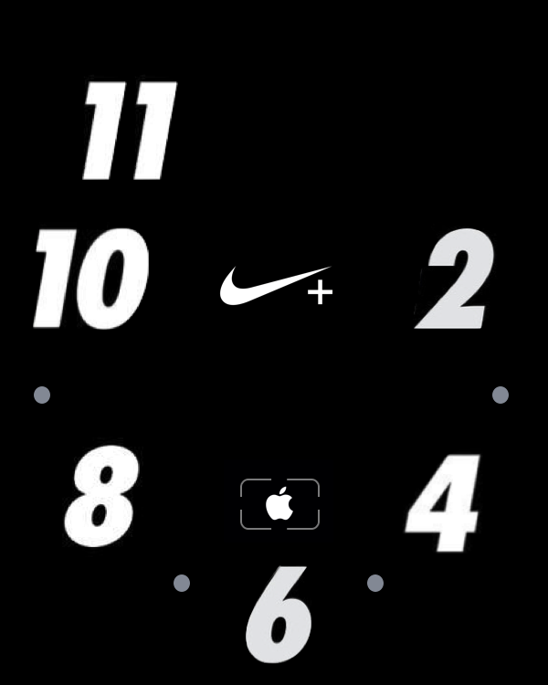 Apple Watch Face Nike Nike