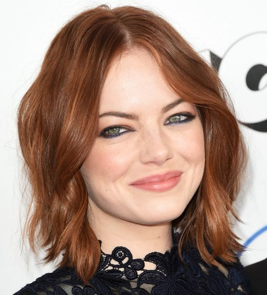 Emma Stone Short Hair 2015
