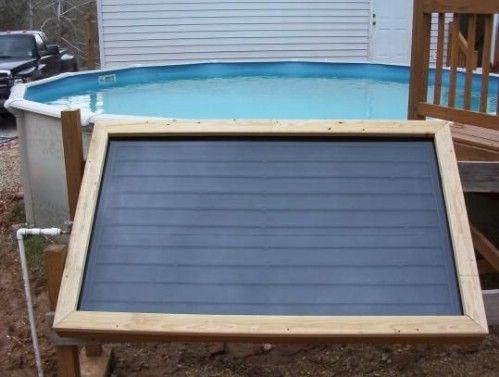 70 Summery Backyard Diy Projects That Are Borderline Genius Solar Pool Heater Diy Diy Solar Panel Solar Pool