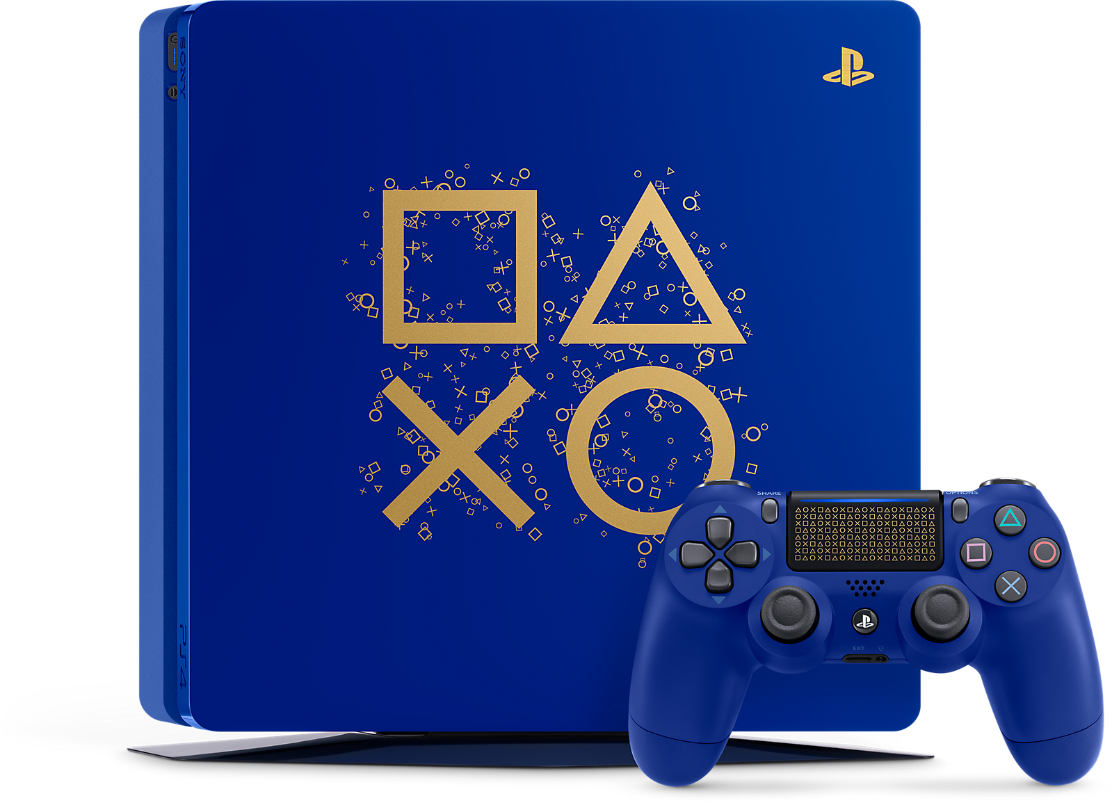 Blue Gold Playstation 4 Slim Playstation 4 Connect Games Sony Playstation