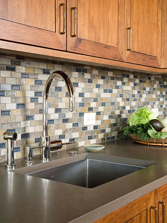 Choose The Right Countertop Material Trendy Kitchen Backsplash