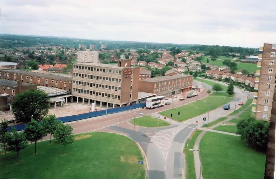 Seacroft Centre Now Tescos Old Pictures Council Estate Leeds