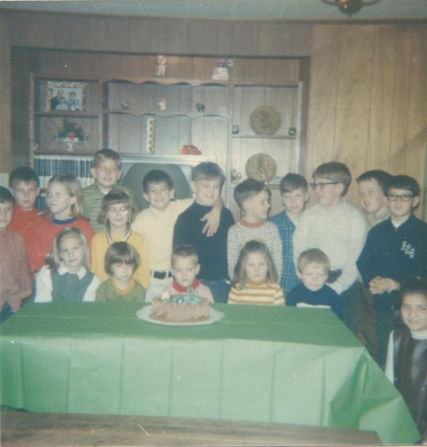 A very old Birthday party.....