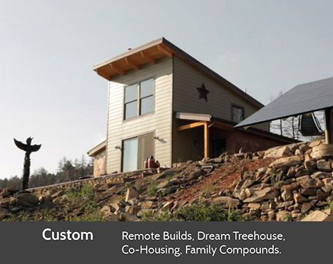 Cabin Fever Prefab Cabins Created Using Prefabricated Prefab Flat Pack Kits Utilizing Panelized Wall Sections Prefab Cabins Small House Dream Cottage