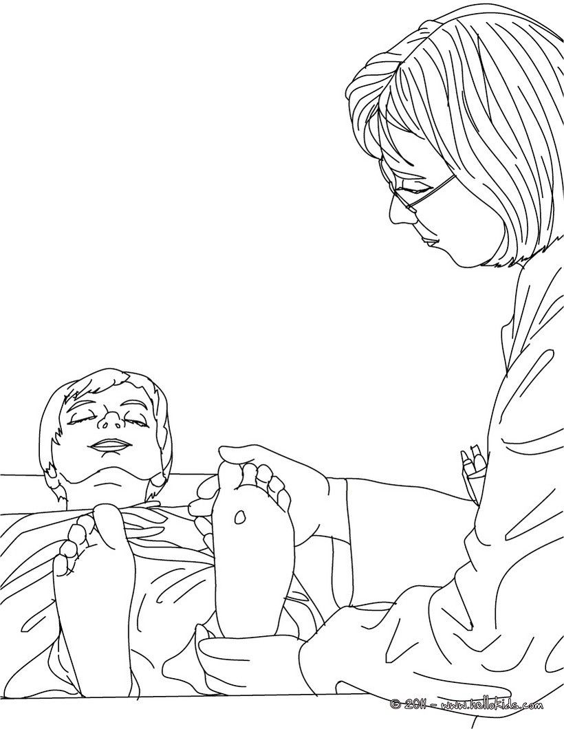 Dermatologist coloring page. Welcome to Doctor coloring pages! Enjoy ...