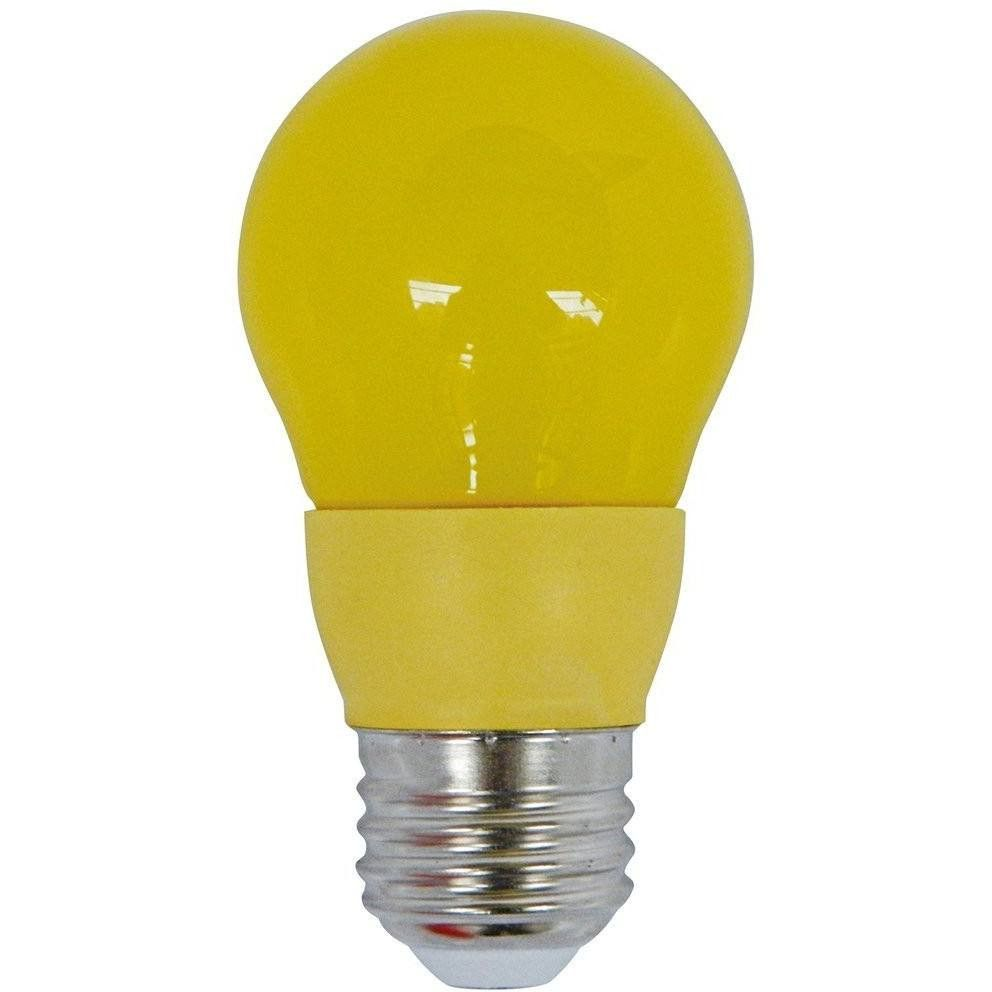5 Watt Led Colored Party Light Bulb A15 Yellow Bug Light