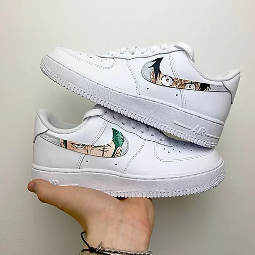 One Piece AF1   Cam Createz   Nike air shoes, Nike shoes air force ...