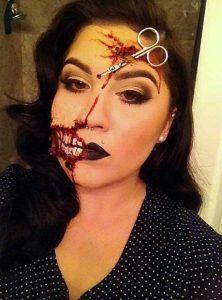 21 scary halloween makeup ideas  halloween makeup