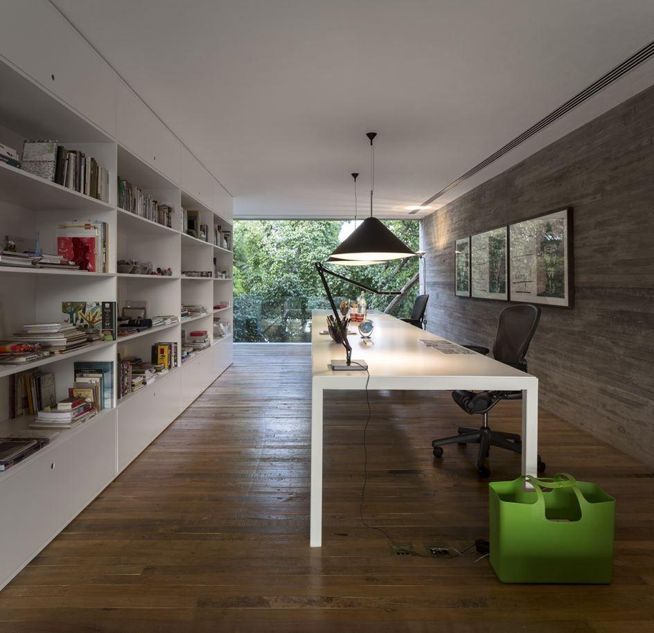 Modern Houses Interior, Home Office