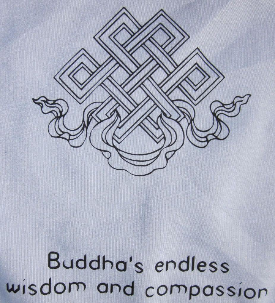 Superior Quality 100 Cotton 8 Auspicious Symbols Tibetan Buddhist