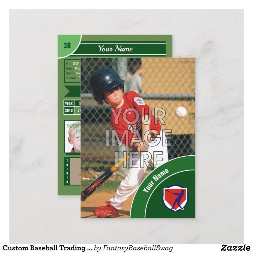 Create Your Own Baseball Card Baseball Cards Baseball Sports Cards