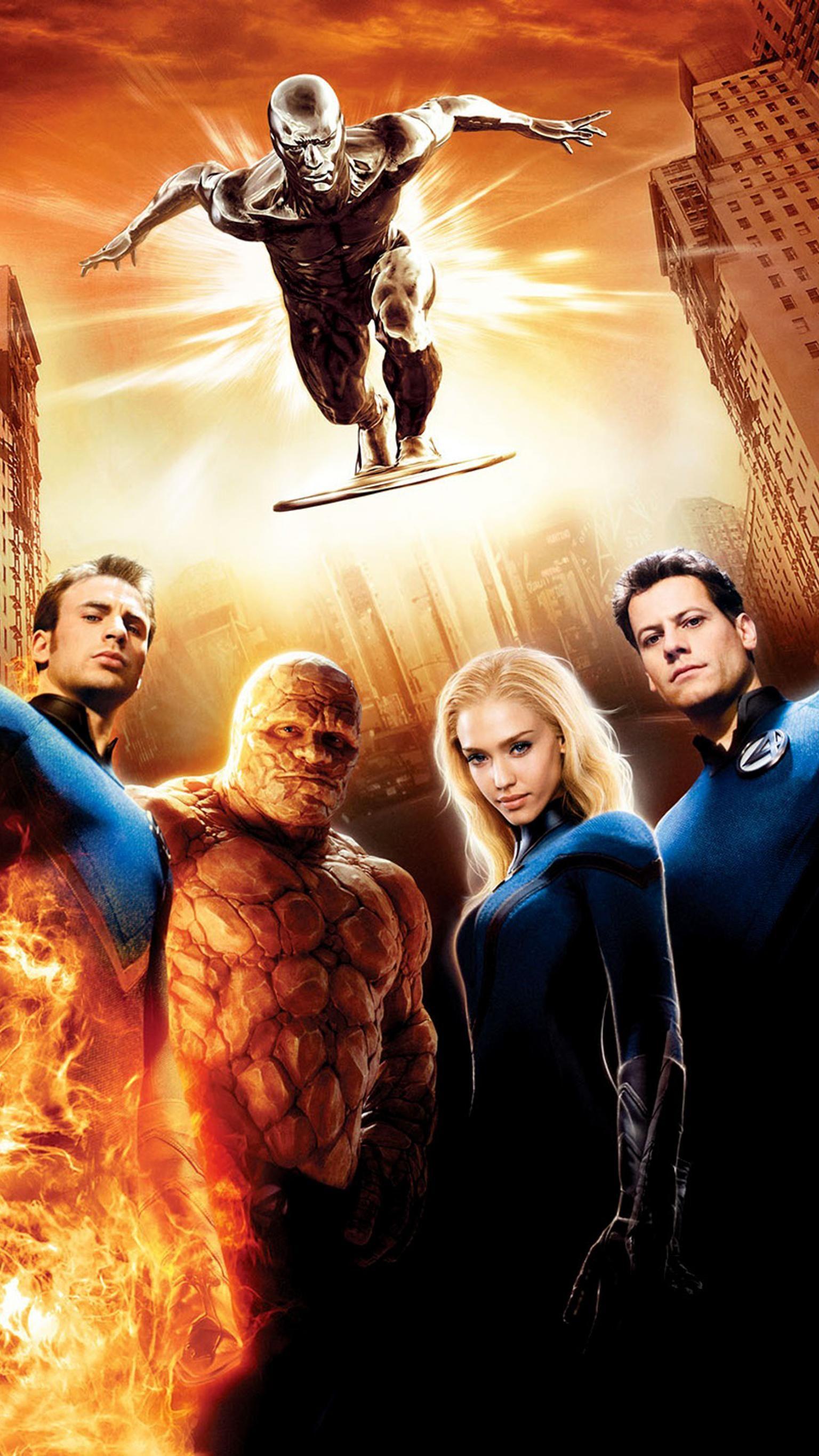 Fantastic Four Rise Of The Silver Surfer 2007 Phone Wallpaper Moviemania Silver Surfer Fantastic Four Fantastic Four 2007