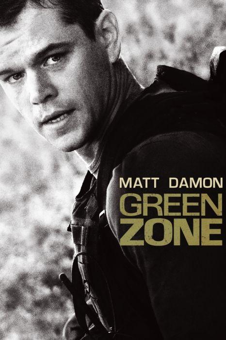 Green Zone Movie Poster Matt Damon Brendan Gleeson Amy Ryan