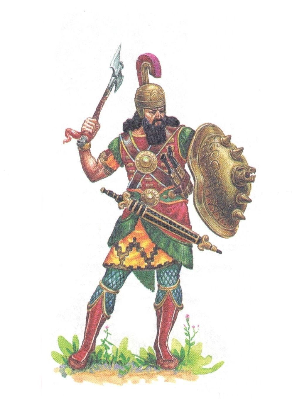 Assyrian Soldier | arms/armor | Ancient mesopotamia, Armor ...