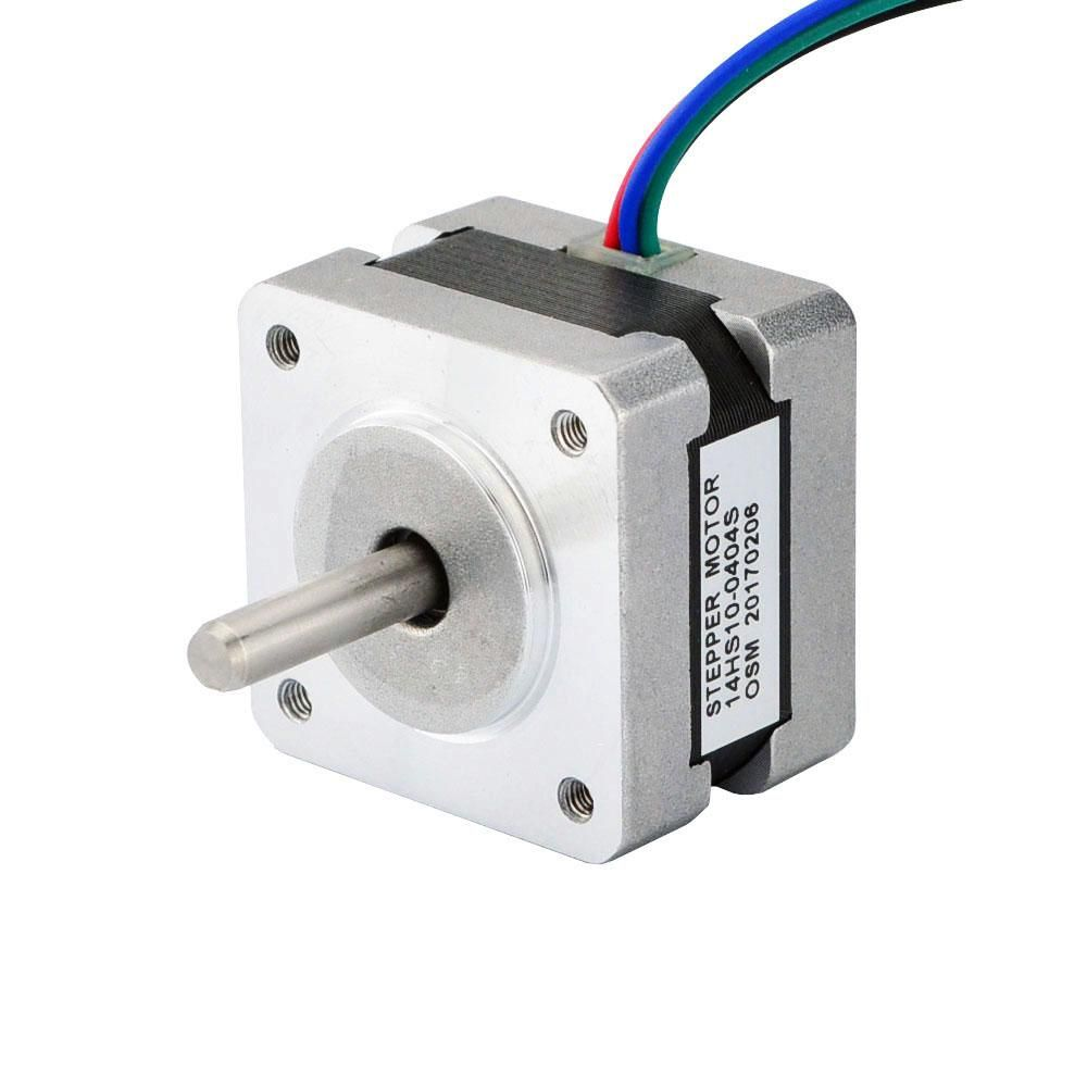 Nema 14 Bipolar 1 8deg 14ncm 20oz In 0 4a 12v 35x35x26mm 4 Wires This Bipolar Nema 14 Stepper Motor With Step Ang Stepper Motor Electronic Products Bipolar