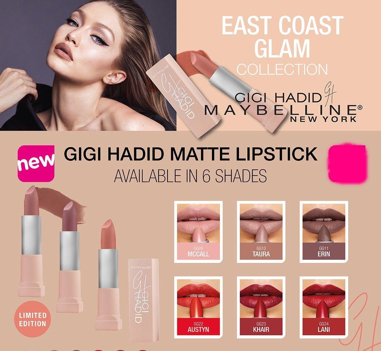 Maybelline New York Lipstick Ebay Fashion Products Gigi Hadid