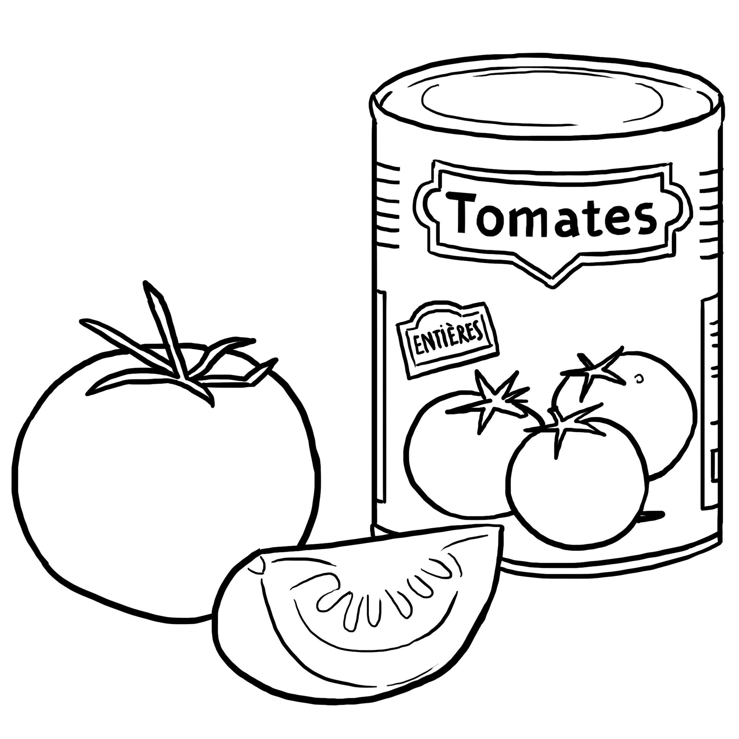 Coloriage Pomme Et Oignon Dessin Anime.Tomate Dessin A Colorier Coloriage Printable Pdf Jeu A