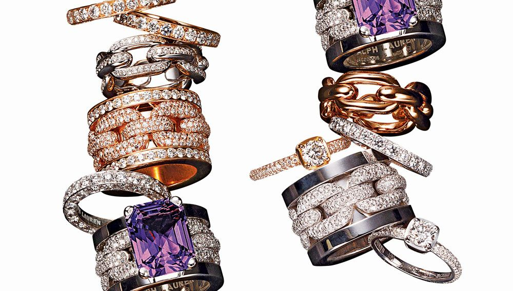 Ralph Lauren does not dabble in anything His first fine jewelry