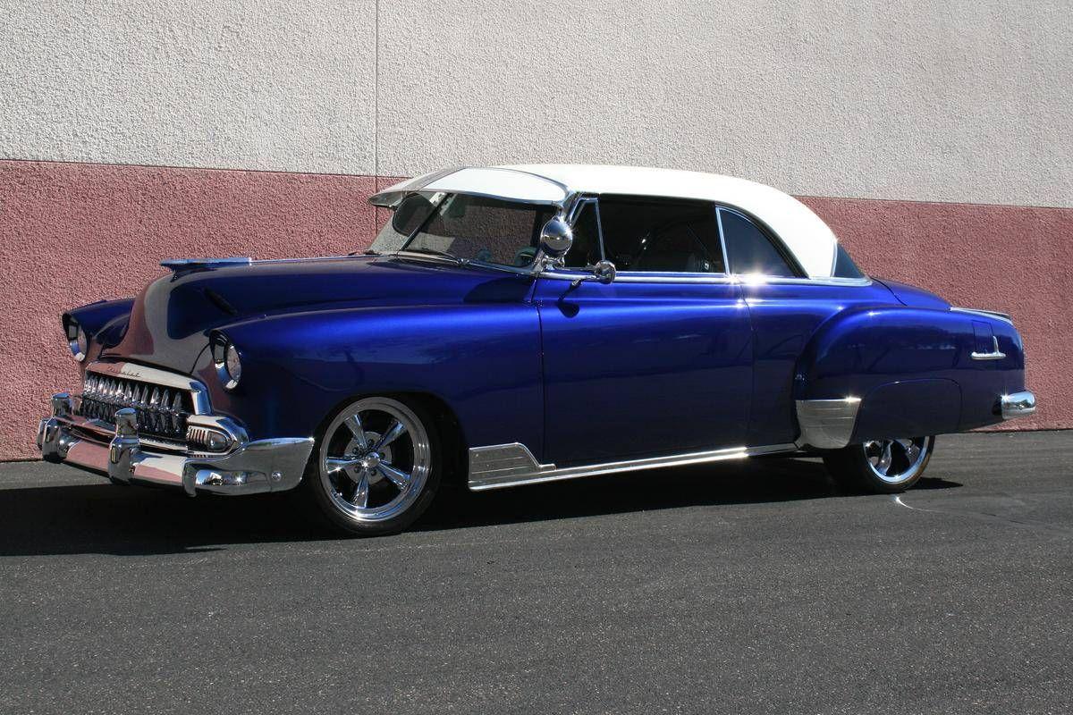 1951 Chevrolet Bel Air 2 Door Chevrolet bel air, Classic