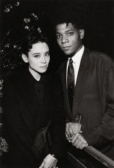 Tina Chow and JJean-Michel Basquiatt