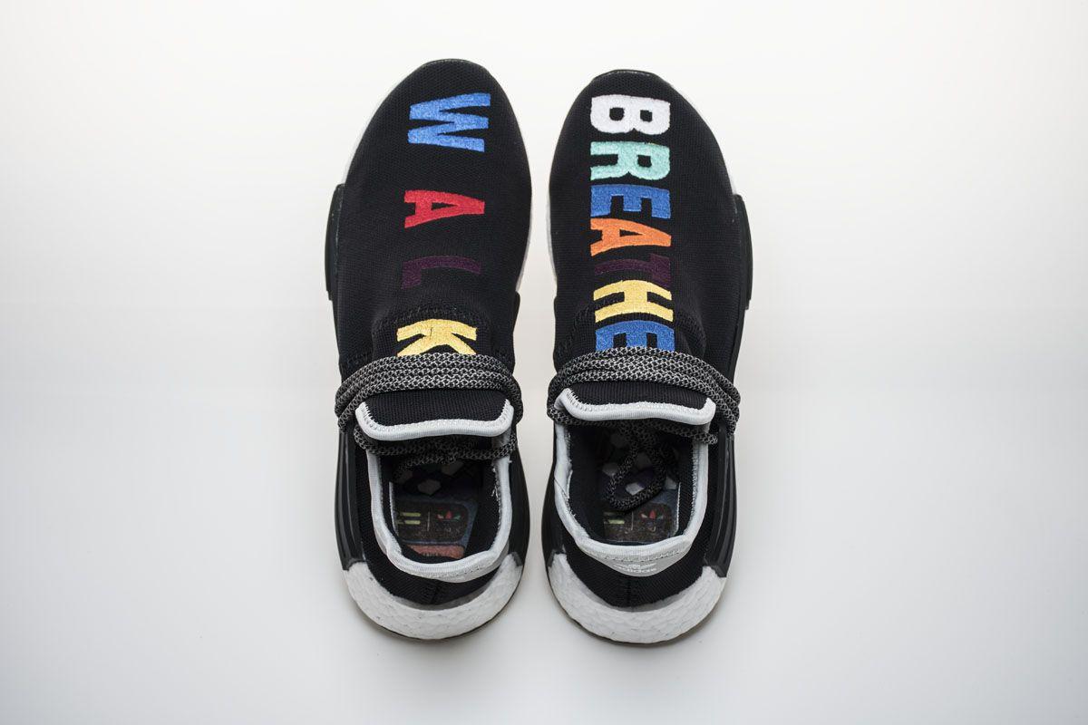 "2f4bfc58f29ab Pharrell x Adidas NMD Hu""Breathe + Walk""Real Boost7"