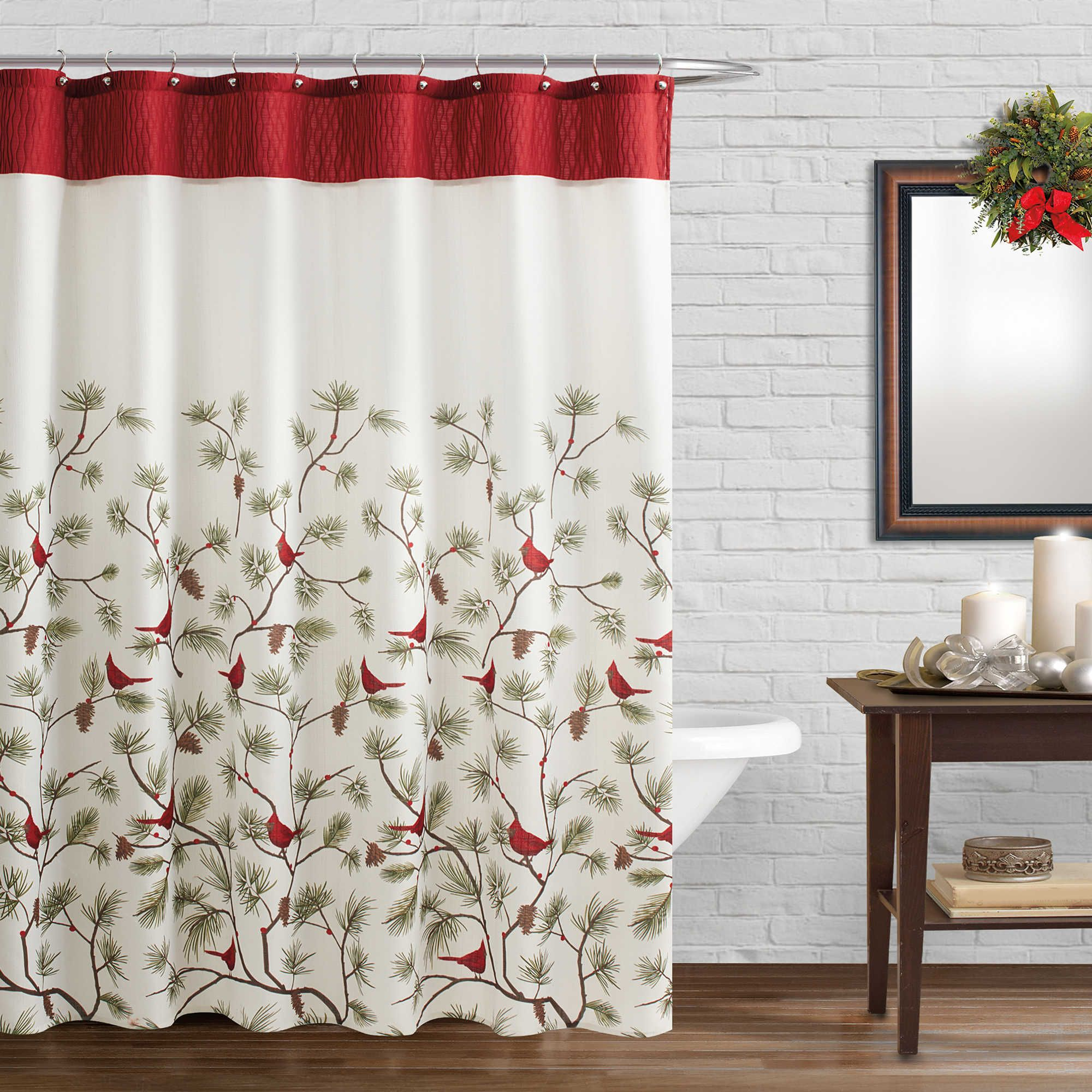 Saturday Knight Curtains Indoor Christmas Decorations