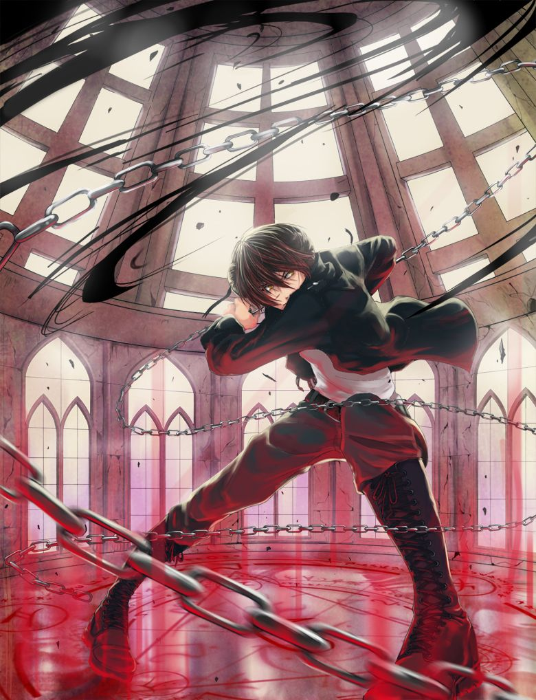 Chains Controls Them Anime In 2018 Pinterest Fantasia T Shirt Pria Castlevania Death