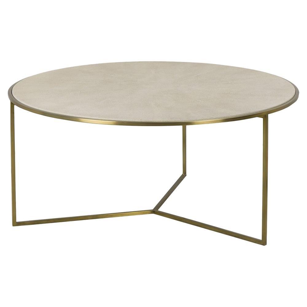 Maison 55 Gwen Regency Linen Shagreen Round Brass Coffee Table In 2021 Brass Round Coffee Table Coffee Table White Coffee Table Furniture [ 1000 x 1000 Pixel ]