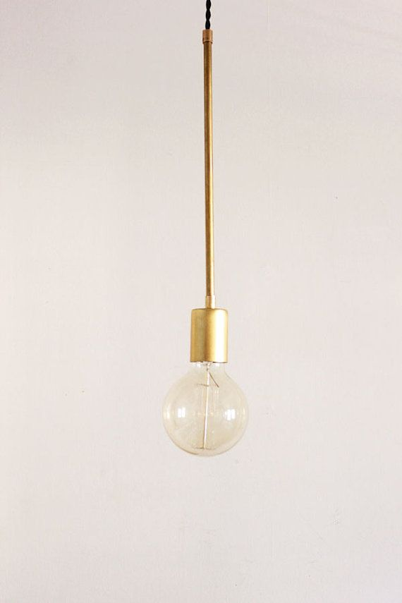 Brass Hanging Light Vintage Modern Industrial Pendant Light - Globe & Brass Hanging Light Vintage Modern Industrial Pendant Light ... azcodes.com