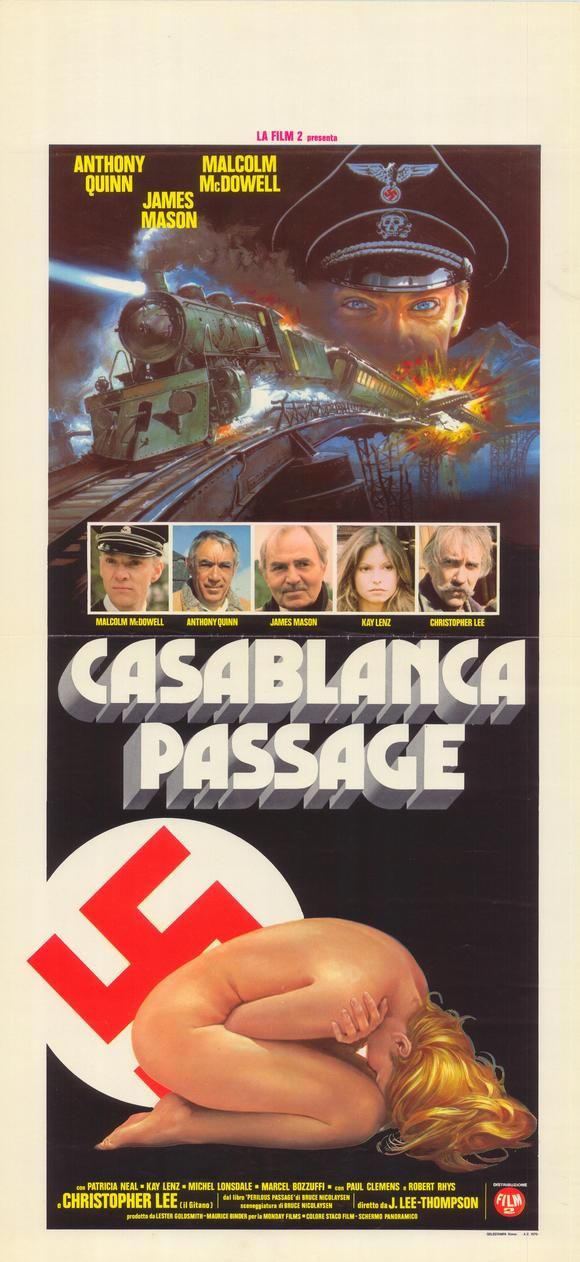 The Passage 1979 Stars Anthony Quinn James Mason Malcolm