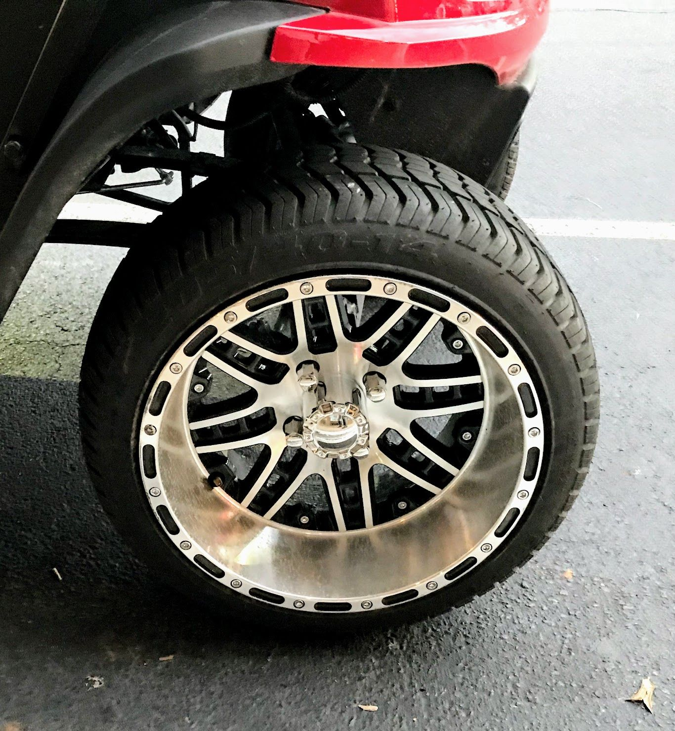 Golf Cart Wheels And Tires Sizes Finishes For Style And Custom Look Golf Cart Wheels Wheels And Tires Golf Cart Tires