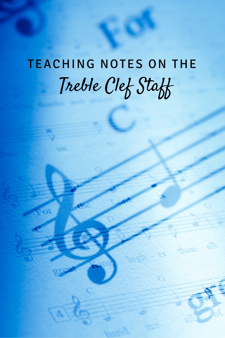 A New Way Of Teaching Notes On The Treble Clef Staff