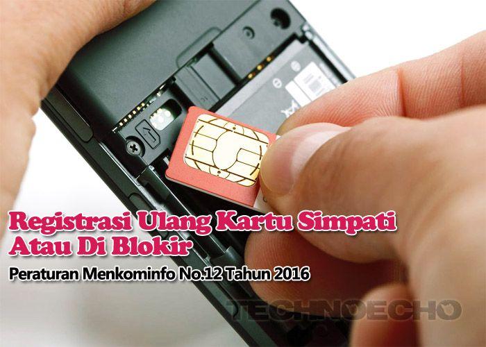 Cara Registrasi Ulang Kartu Prabayar Telkomsel Simpati Loop As Kartu Ponsel