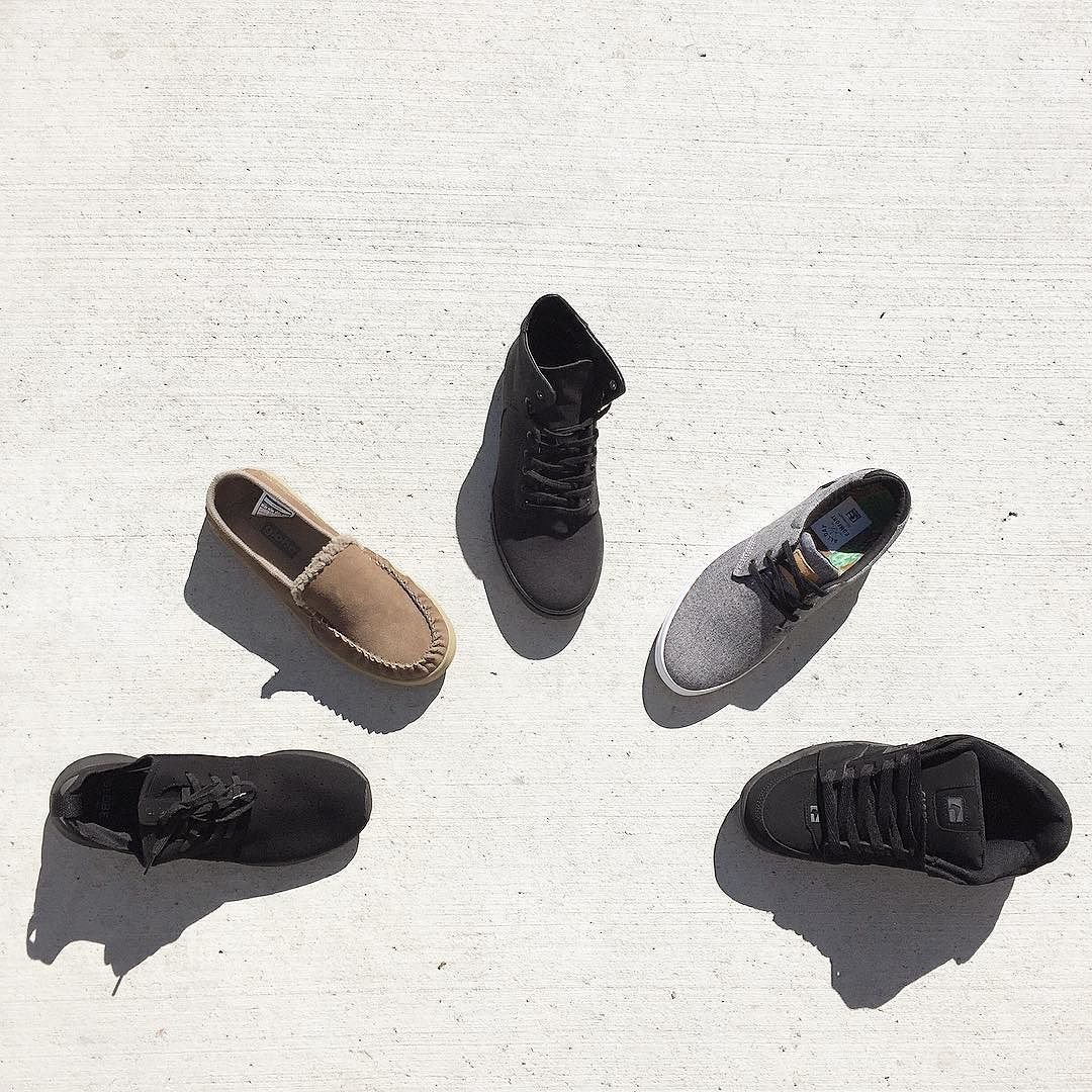 Just received our first Globe shoes. 5 very different styles for ya. Swing by the store or check the link in our bio for more details. #globebrand #globefootwear #shoes  Open until 5 today.
