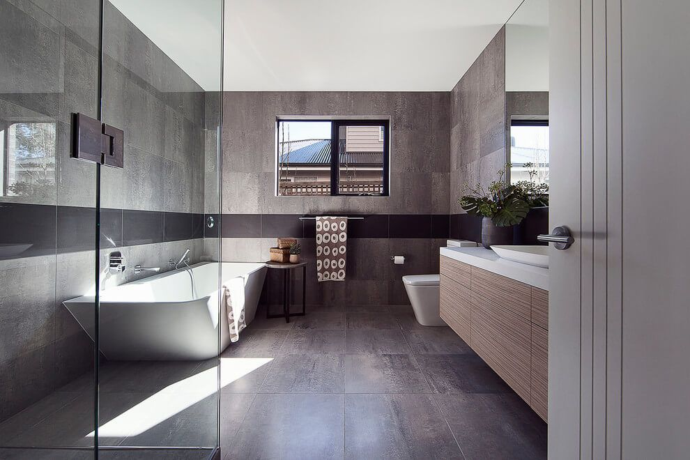 Contemporary House by R.Z.Owens Constructions | Bathrooms | Pinterest