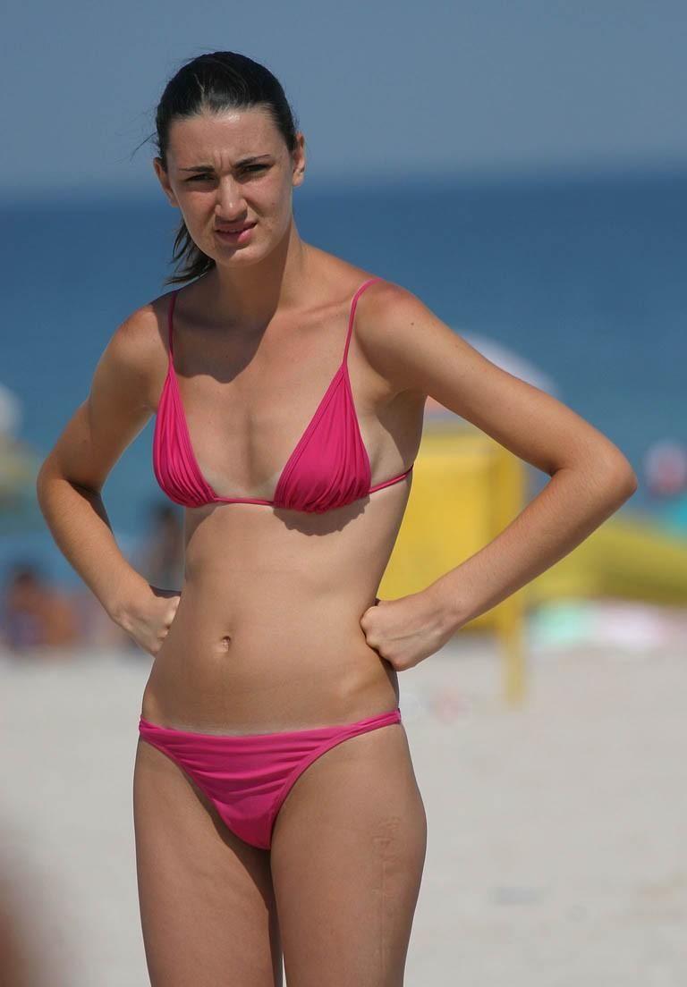 Hairy Girl Bikini