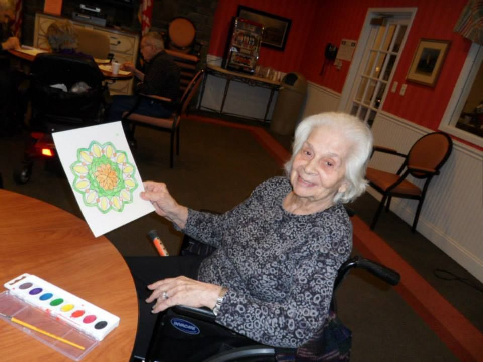 We love seeing our residents smile morningside house of