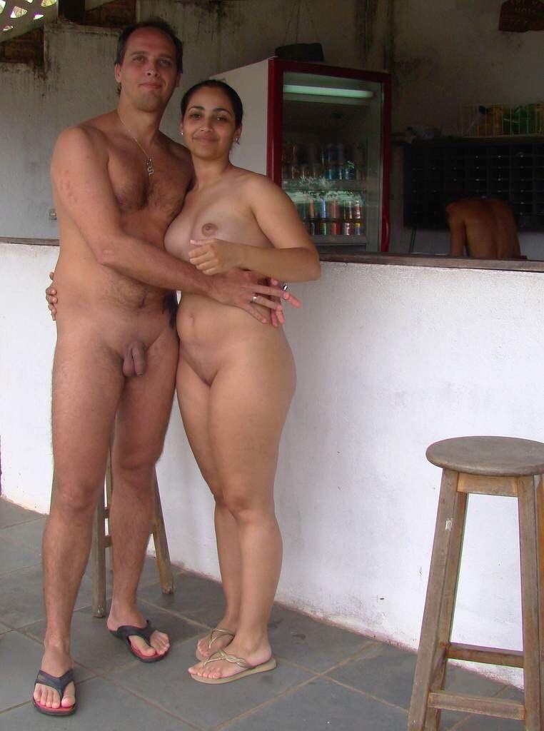 Nude nudist couples