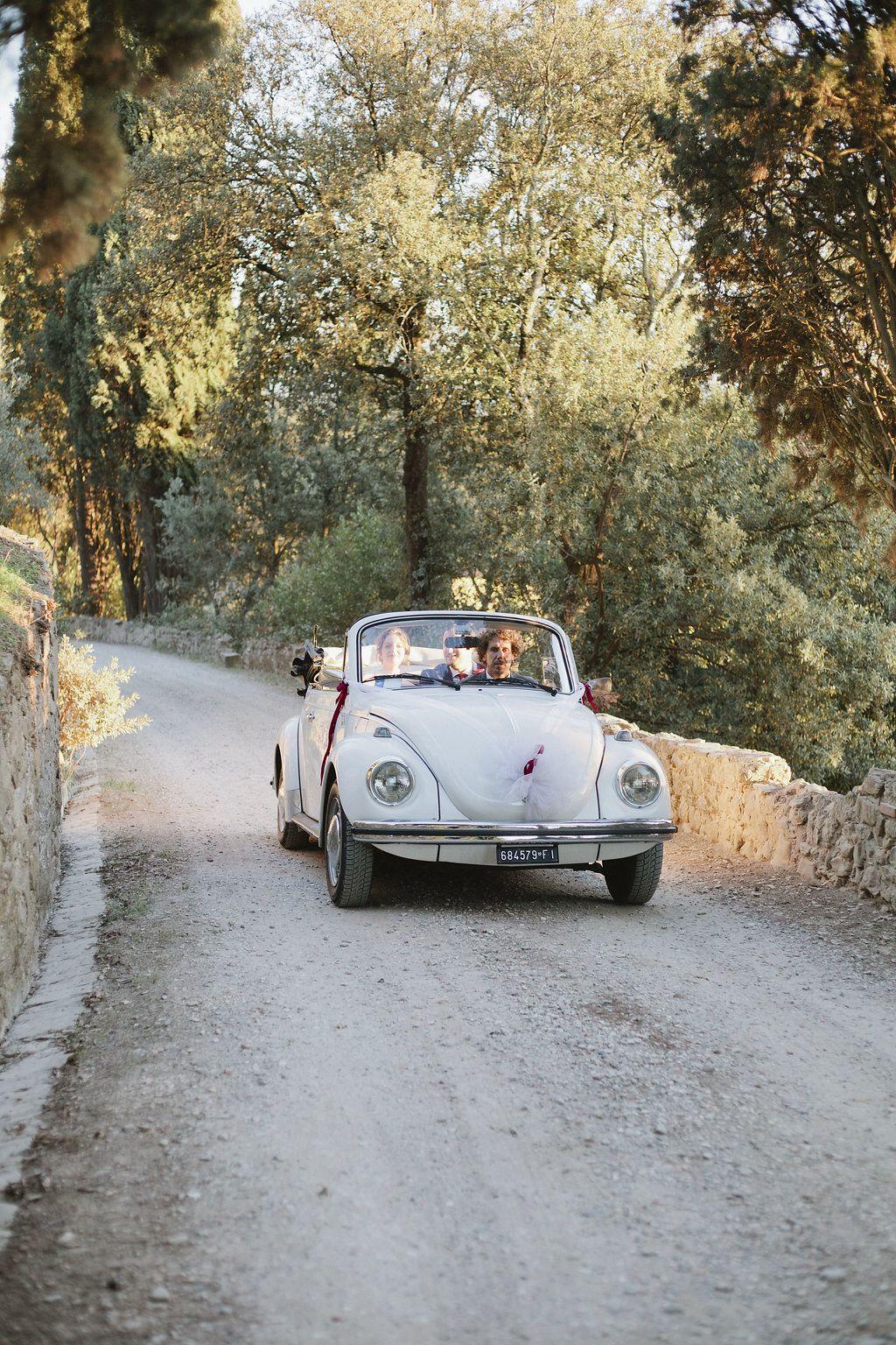 A Breathtaking Elopement in Tuscany | Wedding car, Getaway ...
